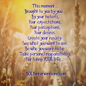 Beliefs Create Reality