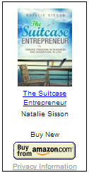 The Suitcase Entrepreneur Book by Natalie Sisson